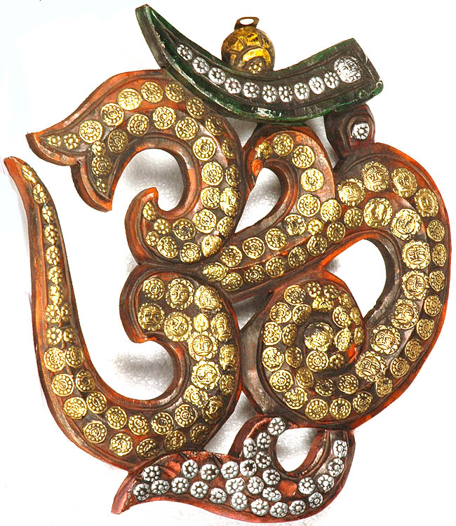 Om (AUM) with the Figures of Sun (Wall Hanging)