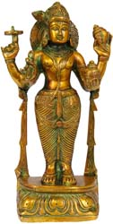 Lord Vishnu as Dhanvantari -  The Physician of the Gods