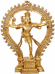 Shiva, The Nataraja in Ananda-Tandava