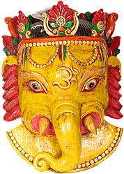 Angry Ganesha Mask