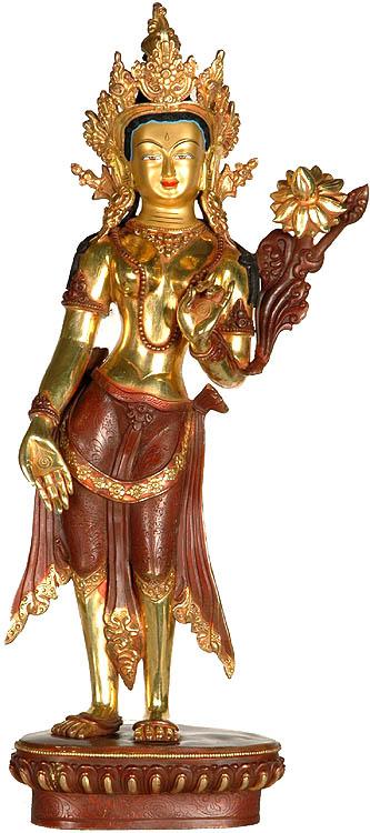 Standing Tara