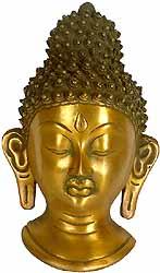The Buddha Head (Wall Hanging Mask)