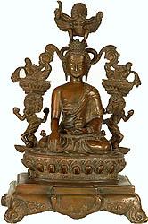 Statues of Gautam Buddha