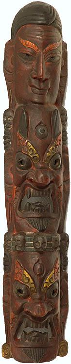 Wall Hanging Tantric Ritual Mask