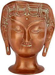 Goddess Tara Head