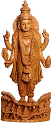 Dhanavantari, The Physician of Gods Emerges from the Churning of the Ocean