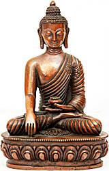 Бронзовая статуэтка Будды