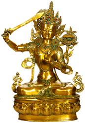 Manjushri - Bodhisattva of Transcendent Wisdom