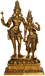 Lord Shiva with Parvati