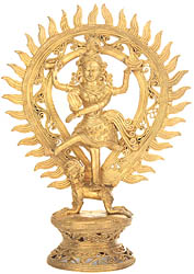 Lord Shiva As Nataraja (Tribal Sculpture from Bastar)