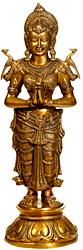 The Dwara-Devi (The Celestial Doorkeeper Flanking Temple Doors)