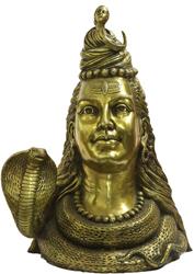 Shiva's Bust Representing Him as Gangadhara