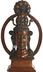 Tribal Shiva Head