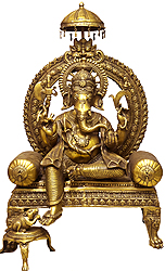 Haridra Ganapati: The Majestic Image of Lord Ganesha