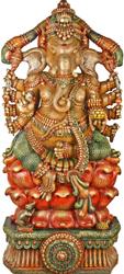 Ten-Armed Kamalasana-Ganapati