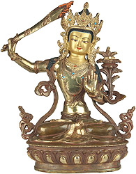 Manuushri – The Buddhist God of Wisdom and Knowledge