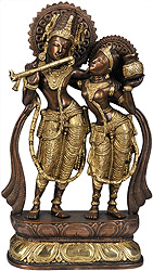 Radha Krishna (Twin-Hued)