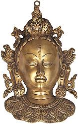 Goddess Tara Wall Hanging Mask