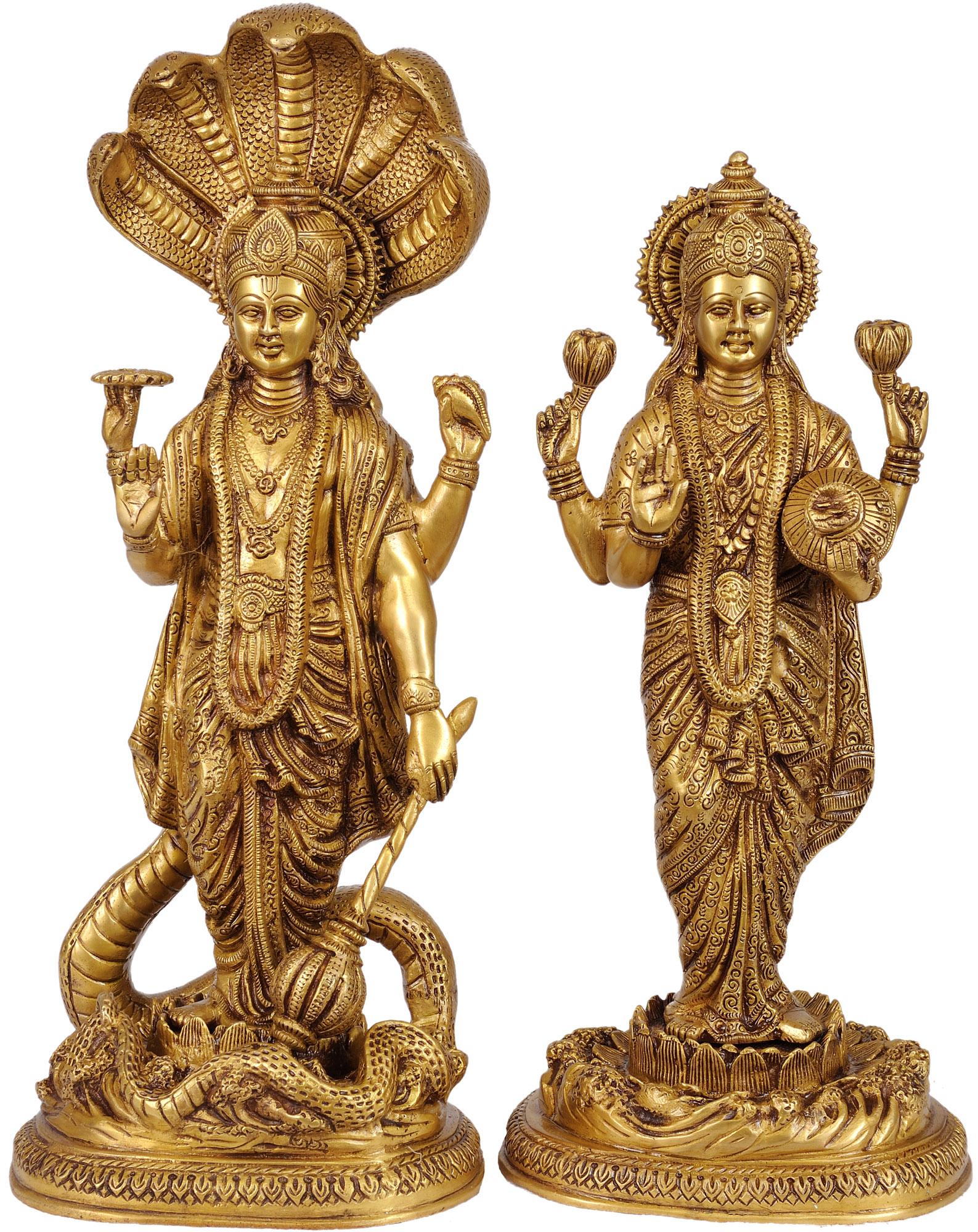 Ancient Lakshmi Statue