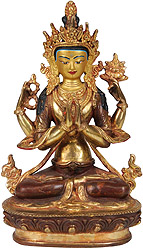 Four Armed Avalokiteshvara