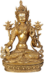 White Tara - The Goddess Who Gives A Long Life