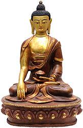 Lord Buddha in Bhumiparsha Mudra