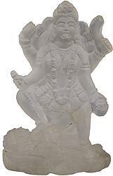 Mother Goddess Kali (Carved in Crystal)