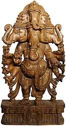 The Five-faced Heramba Ganesha