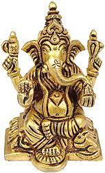 The Benevolent God Ganesha  (Small Statue)