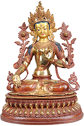 Goddess White Tara with Seven Compassionate Eyes