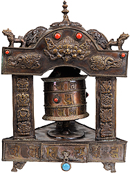 Prayer Wheel (Om Mani Padme Hum)