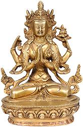 Chenrezig (Shadakshari Lokeshvara) - Most Popular Deity of Tibet