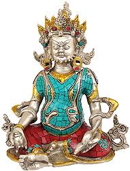 Kubera (Inlay Statue)