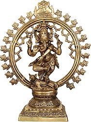 Lord Ganesha as Nataraja