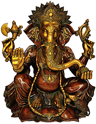 Four-Armed Ganapati