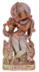 Bhagawan Krishna with Radha ji on Reverse