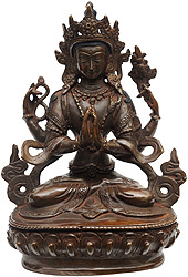 Four Armed Avalokiteshvara