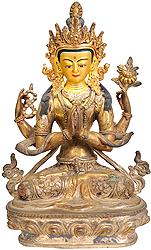 Chenrezig (Four-Armed Avalokiteshvara)