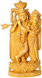 Bhagawan Krishna and Radha