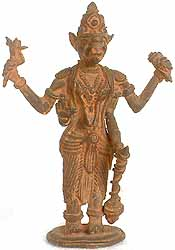 Varaha Avatar (Tribal Statue of Bhagawan Vishnu)