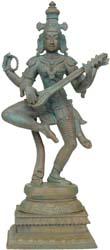 Dancing Goddess Saraswati