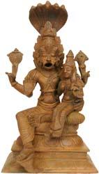 Lord Narasimha with Lakshmi Ji
