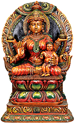 Santan Lakshmi Worship For Children