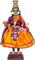Kathakali Doll