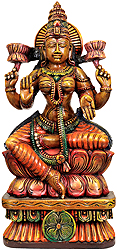 Lakshmi the Goddess Who Gives Money