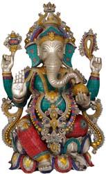 Lalitasana Ganesha