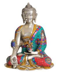The Medicine Buddha (Bhaishajyaguru)