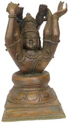 Lord Shiva Practicing Yoga