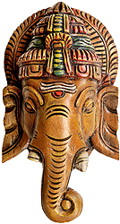 Ganesha Mask (Wall Hanging)