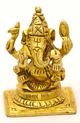 The Benevolent God Ganesha